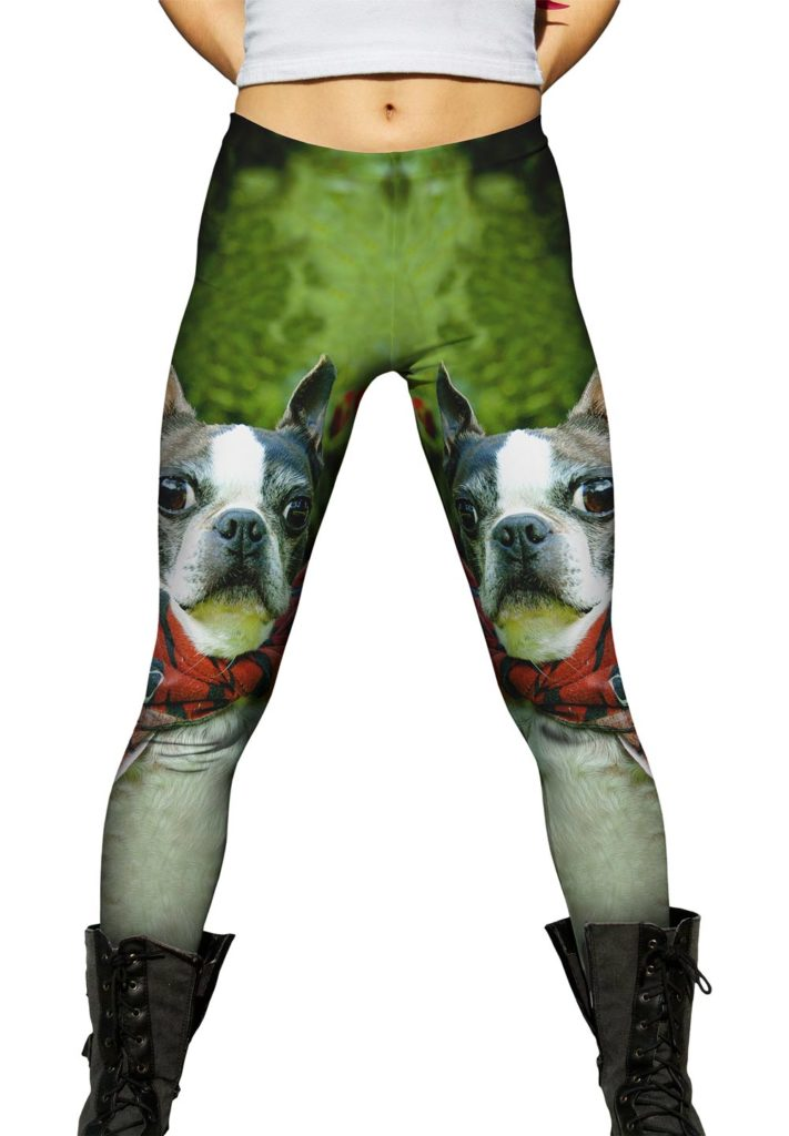 Boston Terrier Leggings and Pants