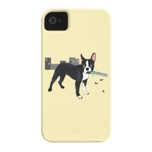 Attack of the Colossal Boston Terrier!!! Phone Case