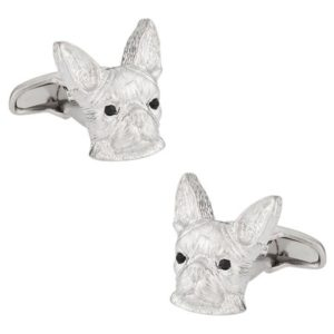 Boston Terrier Cufflinks by Cuff-Daddy