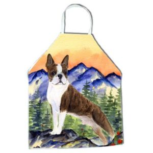 Boston Terrier Apron - 27 H x 31 W in.