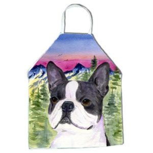 Boston Terrier Apron - 27 x 31 in.